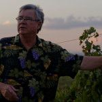 O'Vineyards Carcassonne Joe describes wine pruning on a wine tour and tasting