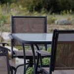 O'Vineyards Carcassonne patio tables and chairs